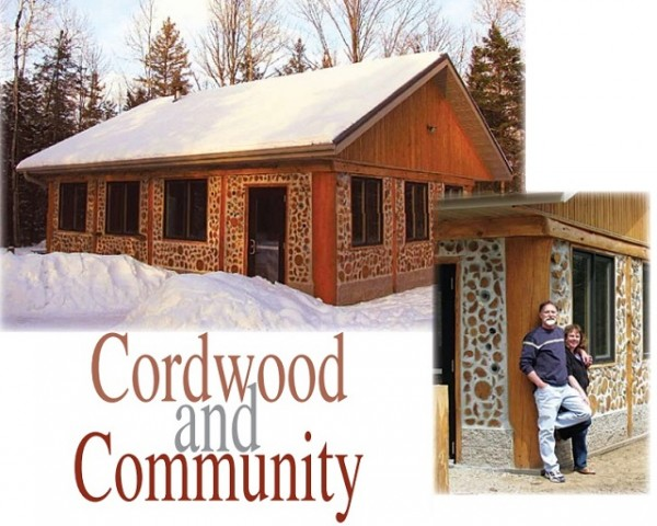 Cordwood log cabins beauty of planet earth for Cordwood home designs