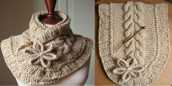 Knitting Yarn Over First Stitch : A Beautiful Knit Scarf (free pattern) Beauty of Planet Earth